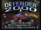 Defender 2000 Jaguar Title Screen