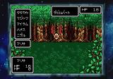Phantasy Star Collection SEGA Saturn PS: battle in a forest