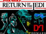 Star Wars: Return of the Jedi ZX Spectrum Title screen
