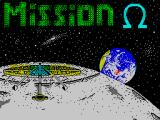 Mission Omega ZX Spectrum Title screen
