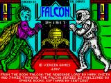 Falcon: The Renegade Lord ZX Spectrum Loading screen