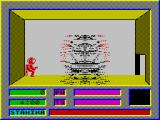 Falcon: The Renegade Lord ZX Spectrum The ship leaves me behind, and the game starts.