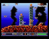 Turrican II: The Final Fight Amiga Destroy the bee-hive to prevent more bees from emerging.