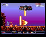 Turrican II: The Final Fight Amiga This is an optional boss. If you kill it, you get two extra-lives.