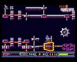 Turrican II: The Final Fight Amiga The game is back to normal again. A bouncing gear-wheel is trying to kill me.