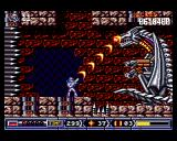 Turrican II: The Final Fight Amiga This looks like a dragon. I'm using the surround-beam on its face!