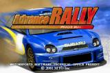 GT Advance 2: Rally Racing Game Boy Advance Japanese title screen