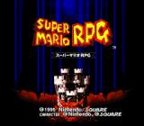 Super Mario RPG: Legend of the Seven Stars SNES Title screen (Japanese version.)