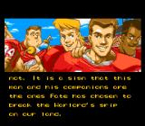 King Arthur & the Knights of Justice SNES Intro part 3 - King Arthur