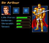 King Arthur & the Knights of Justice SNES The stats, they don't change during game.