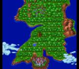 King Arthur & the Knights of Justice SNES Map of England