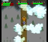 King Arthur & the Knights of Justice SNES Bridge over mountains