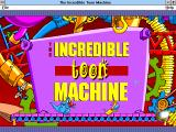 The Incredible Toon Machine Windows 3.x Title screen