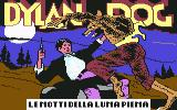 Dylan Dog: Le Notti della Luna Piena Commodore 64 Title Screen
