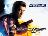 007: The World is Not Enough PlayStation Title screen.