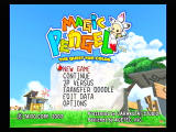 Magic Pengel: The Quest for Color PlayStation 2 Title screen