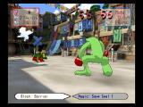 Magic Pengel: The Quest for Color PlayStation 2 Boxing lizard!