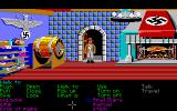 Indiana Jones and The Last Crusade: The Graphic Adventure Amiga In the kitchen at the castle.