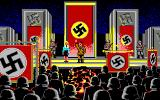Indiana Jones and The Last Crusade: The Graphic Adventure Amiga Hitler and his goose stepping goons in Berlin.