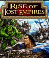 Rise of Lost Empires J2ME Title screen