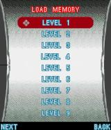 Assassin's Creed J2ME Level selection. New ones are added once they are completed.