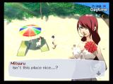 Shin Megami Tensei: Persona 3 PlayStation 2 Summer vacation at the beach!