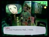 Shin Megami Tensei: Persona 3 PlayStation 2 Fuuka has the ability to scan for shadows.