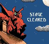 Spawn Game Boy Color Stage cleared
