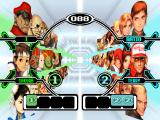 Capcom vs. SNK Dreamcast Character selection