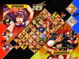 Capcom vs. SNK 2: Mark of the Millennium Dreamcast Character selection