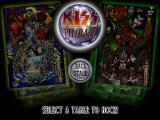 Kiss Pinball PlayStation Pick a table to play.