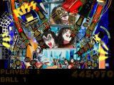 Kiss Pinball PlayStation Middle part of the Last Stop: Oblivion table