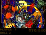 Kiss Pinball PlayStation Top part of the Last Stop: Oblivion table