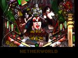 Kiss Pinball PlayStation Bottom part of the Netherworld table