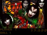 Kiss Pinball PlayStation Top part of the Netherworld table