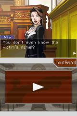 Phoenix Wright: Ace Attorney Nintendo DS Your boss