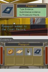 Phoenix Wright: Ace Attorney Nintendo DS Another piece of evidence