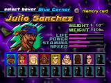 Contender 2 PlayStation Character selection screen. As you can see, there's quite a few fighters to unlock.