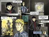 The Nightshift Code Windows Comic book panels