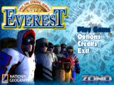 Everest: The Ultimate Strategy Game Windows Main menu