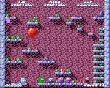 Fuzzball Amiga When you kill an enemy, it turns into a small ball. If you don't touch it in time, the enemy will ressurect into a more difficult and aggressive monster, with a different colour.