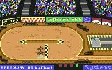 Speedway Commodore 64 The race is started...