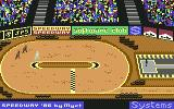 Speedway Commodore 64 On the bend...