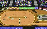 Speedway Commodore 64 Competitors are behind your back...Do not lose!...