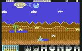 Parigi Dakar Commodore 64 Riding the bike (2D)...