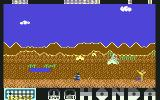 Parigi Dakar Commodore 64 Jumping over the native (2D)...