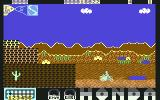 Parigi Dakar Commodore 64 End of the stage (2D)...