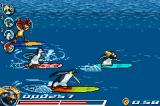 Surf's Up Game Boy Advance Starting a race