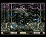 Z-Out Amiga This boss is very difficult. The shields I have above and below me is a great help though.