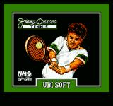 Jimmy Connors Tennis NES Title screen